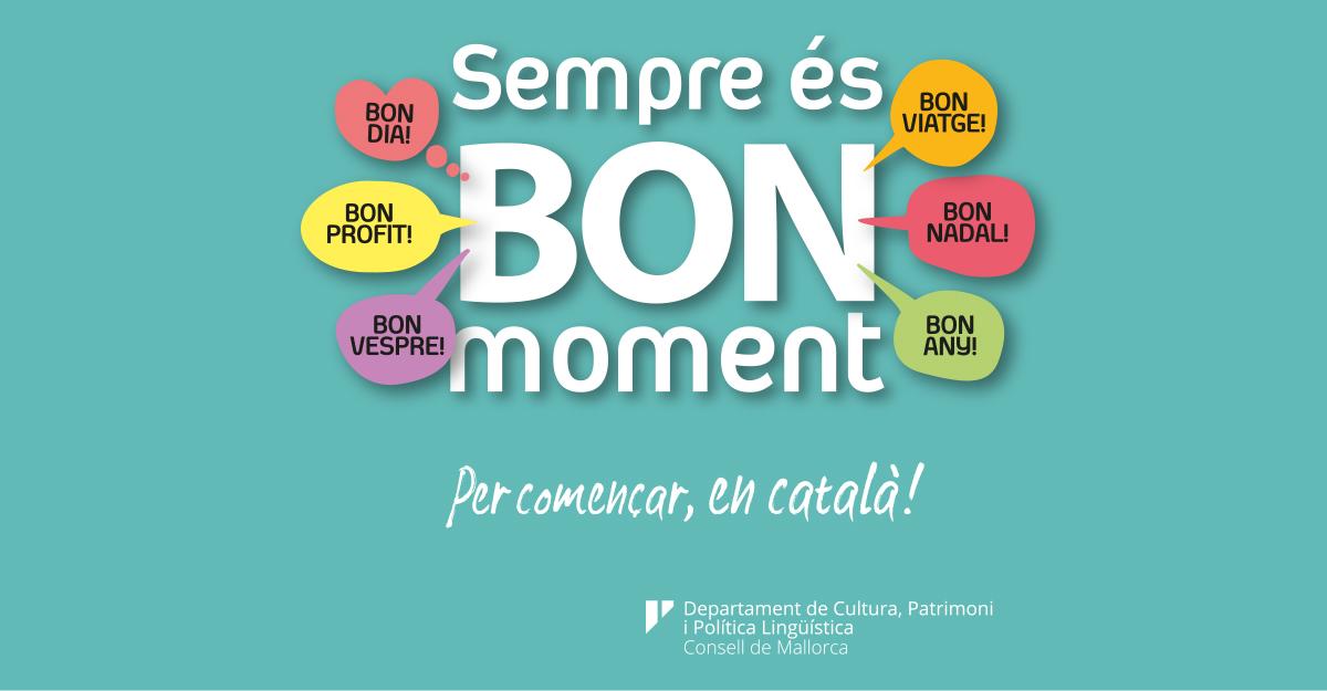 Política Lingüística impulsa una campanya publicitària i una taula rodona per al foment de l'ús del català